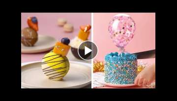 12 Most Beautiful Cake Decorating Ideas | How To Make Perfect Cake Decorating Recipes | So Tasty