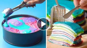 How To Make Cakes For Your Coolest Family | So Yummy Chocolate Hacks Ideas | Tasty Plus Cake