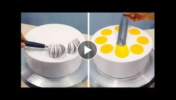 Amazing Creative Chocolate Cake Decorating Ideas | Tasty Chocolate Recipe | Perfect Cake Decorati...