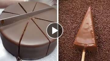 Homemade Chocolate Cake With Milk Cream Recipes | The Best Chocolate Cake Tutorial
