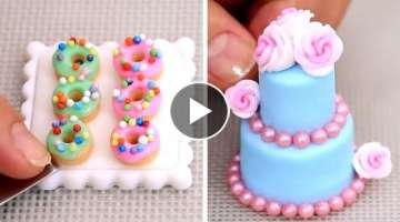 Amazing Miniature Cakes & Food COMPILATION! ミニチュア工芸