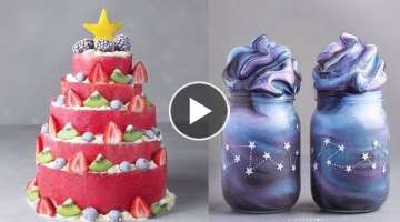 Top 20 Amazing Birthday Cakes Decorating Ideas - So Yummy Cake - oddly satisfying cake videos