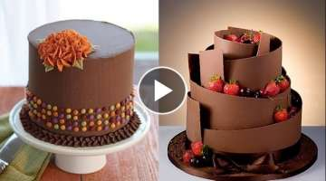 Top 15 Amazing Chocolate Cakes Decorating Techniques - Most Satisfying Video - Cake Style 2017