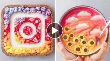 So Yummy Colorful Cake Decorating Ideas | Quick And Easy Cake Recipes | Easy Cake Decorating Idea...