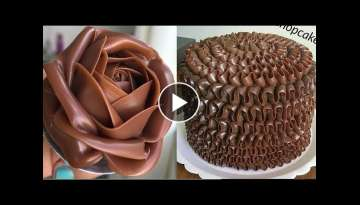 Chocolate Cake Hacks ???????? Chocolate Cake Recipe ???????? 10+ DIY Cake Decorating Tutorial