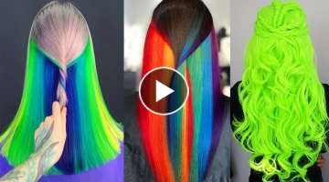 Top 9 Haircut and Hair Color Transformation Compilation ???? The Best Hairstyle Colours Ideas in ...