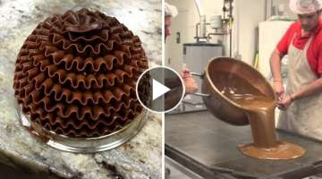 Amazing Chocolate Cake Decorating Videos ★ Satisfying Cake Videos ★ Amazing Cakes compilation