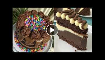The Most Satisfying Cake Video in the world - How To Make Cakes Decorating Compilation #1