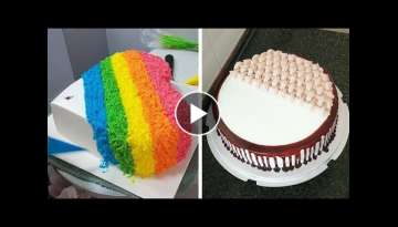 Awesome Cake Decorating Ideas for Party | Easy Chocolate Cake Recipes | Perfect Cake Decorating