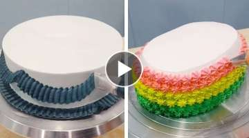 Fun & Creative Cake Decorating Ideas for Party | How to Make Chocolate Cake |Perfect Cake Decorat...