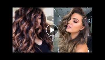 Ombre, Balayage and Subtle Hair Color Ideas for 2020