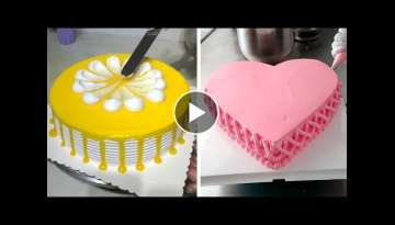 Most Satisfying Chocolate Cake Decorating Ideas | Easy Chocolate Recipes | Perfect Cake Decoratin...