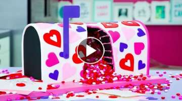 Cake In The Mail?! Unique Valentine's Day Baking Ideas | How To Cake It Step By Step