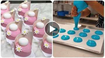 Оddly Satisfying cake videos ???? So Yummy! ???? Amazing Cake Art Decorating Compilation! Tasty ...