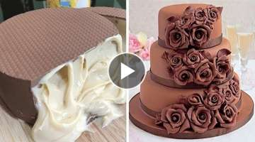 Amazing Chocolate Cake Recipe | How To Make Chocolate Cake Decorating Ideas