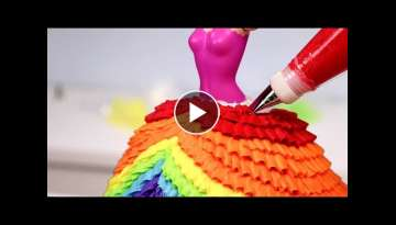 10 AMAZING PRINCESS Dress CAKES ???? Compilation!