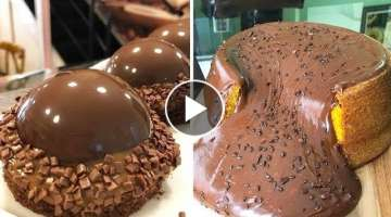 How To Make Chocolate Cakes For Your Coolest Family | Cooking Channel Yummy Cake Recipe