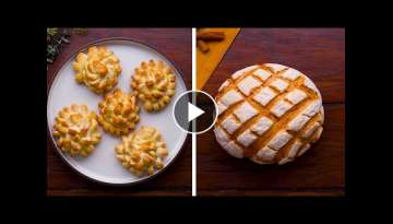 Y'all BREAD-y for this? 13 Quick & Creative Ways to Make Beautiful Bread! | DIY Baking by So Yumm...