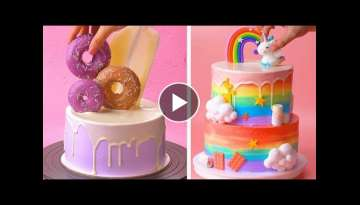 Top 10 Beautiful Cake Tutorials | Best Colorful Cake Decorating Ideas | So Yummy Cake Design 2020