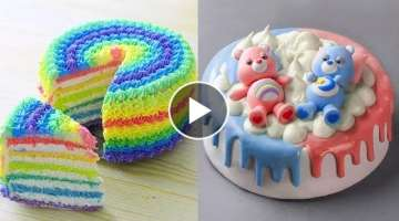 How To Make Cake Tutorial | Best So Yummy Chocolate Cake Decorating Recipes | Tasty Plus Cake