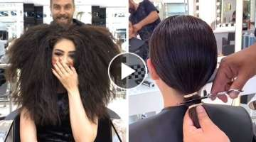 Short Haircuts Trends For Summer | Best Women Hairstyles & Color Transformations | Top Bob Haircu...