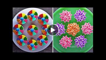 Creative Cupcake Decorating Ideas | Dessert Recipes in Hindi | हिंदी रेसिपी...