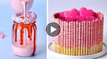 Simple Colorful Cake Decorating Ideas For Valentine's Special You'll Love | So Yummy Cake Recipes