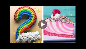 The Final CAKEdown! Easy Cutting Hacks to Make Number Cakes | Easy Cake Decorating Ideas by So Yu...