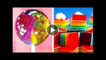 Yummy Rainbow Dessert Ideas | Easy DIY Cakes, Cupcakes and Lollipops by So Yummy