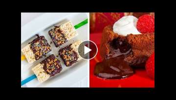 3 Delicious Lava Cube Desserts to Impress Your Dinner Guests!! So Yummy