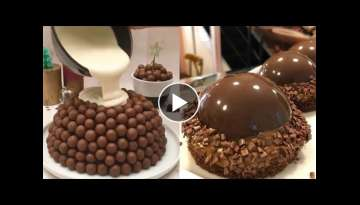 How To Make Chocolate Cake Decorating Tutorial | So Yummy chocolate cake | Easy Cake Decorating