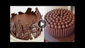 Amazing Cakes Decorating Tutorials Compilation 2017 - Chocolate Cake Decorating Videos 2017