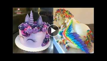Top 20 Amazing Birthday Cake Decorating Ideas - Cake Style 2017 - Oddly Satisfying Cake Decoratin...
