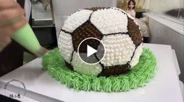 Amazing Ball Cakes Decorating Techniques 2019 ???? Most Satisfying Yummy Cake Style Video #soyumm...