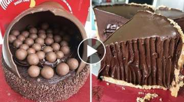 How To Make Chocolate Cake Decorating Ideas | Best Satisfying Yummy Cake Recipes Compilation