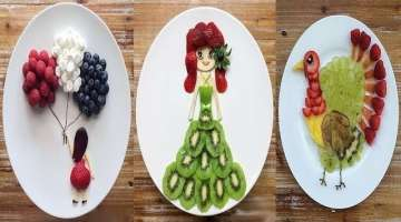 34 Tricks With Fruits And Veggies - Creative Food Art Ideas
