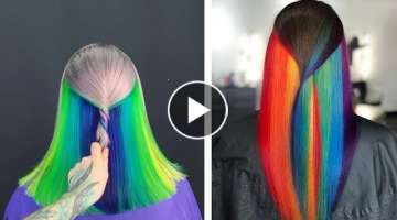 Haircut and Hair Color Transformation Compilation ???? The Best Hairstyle Colours Ideas in 2019