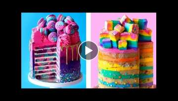 4 Colorful Birthday Cake Ideas | Tastemade